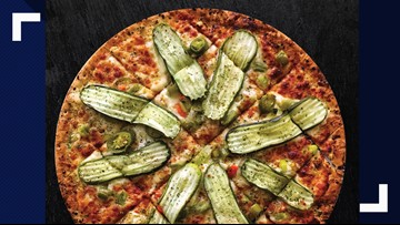 Pickle lovers can now get a pickle pizza at Pickleman's