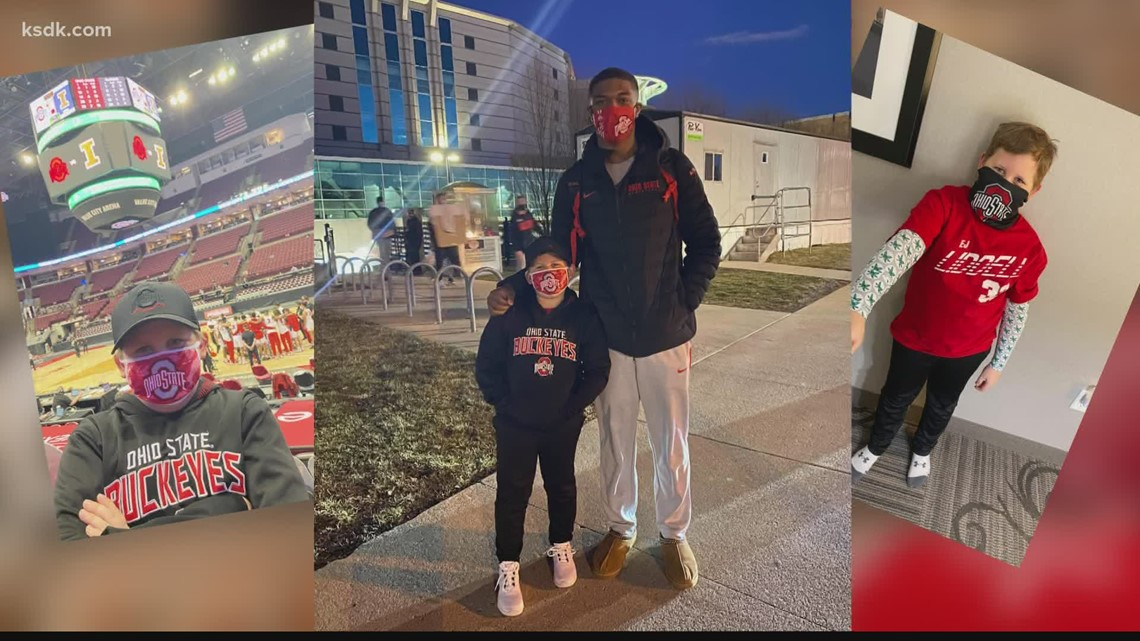 Belleville West alum and college hoops superstar E.J. Liddell forms special bond with local young superfan