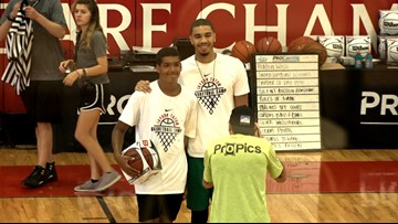 Jayson Tatum proud to help out the youth in St. Louis