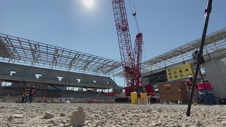 Progress: Here's how the St. Louis City SC stadium is coming along