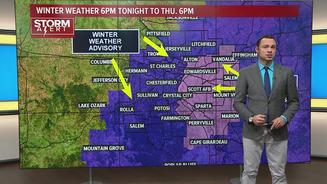 Ksdk Weather Map.Wed Morning Weather Forecast 730 Am Ksdk Com