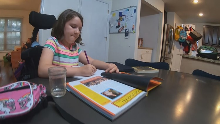St. Louis 11-year-old won't let muscle disease stop her