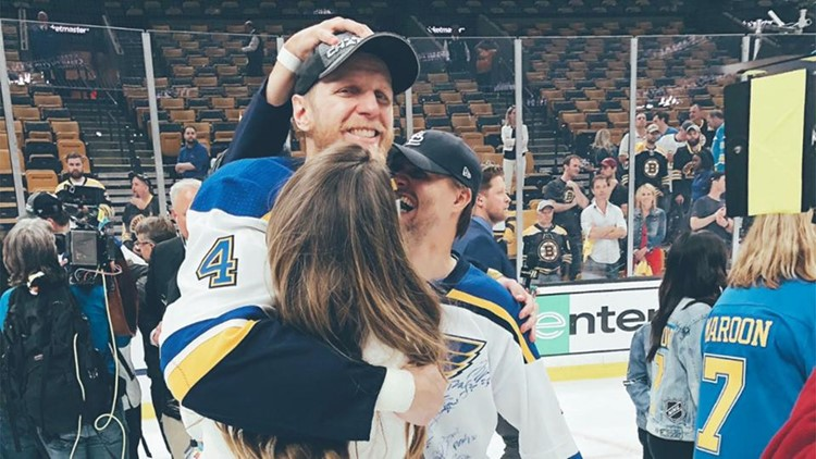 'I was one of the few lucky ones': Blues' Gunnarsson announces his retirement in goodbye note