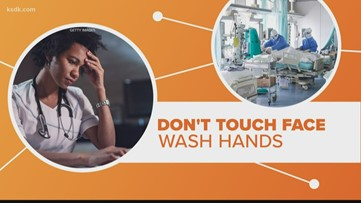 Connect the Dots: Touching your face is a coronavirus risk factor