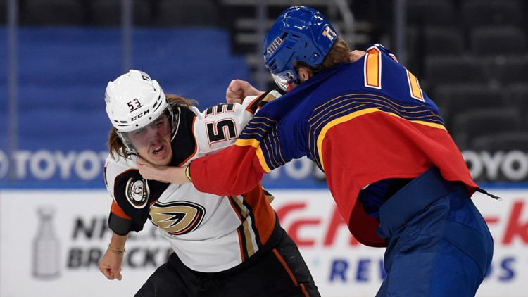 Fleury scores shootout winner, Ducks beat Blues 3-2