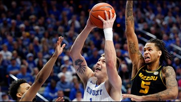 No. 17 Kentucky outlasts Mizzou 71-59 in SEC opener