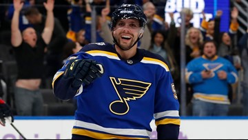 The fabled story of David Perron is exceeding expectations