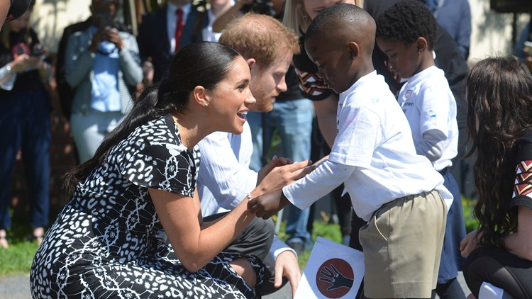South Africa Royals Visit