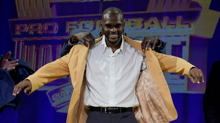 Isaac Bruce will take his place in Hall of Fame as part of historic 28-member class
