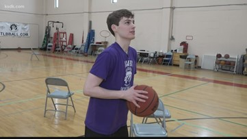 Free throw perfection | This local basketball player is one of the best free throw shooters you've ever seen