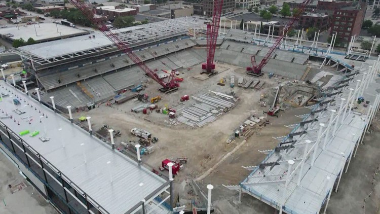 See how the St. Louis City SC stadium is shaping up
