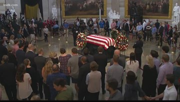 Verify: No, President Trump didn't approve Sen. John McCain's funeral