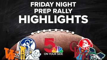 Friday Night Prep Rally: Week 3 highlights