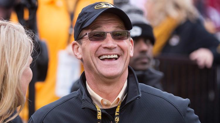 University of Missouri Athletic Director Jim Sterk to step down