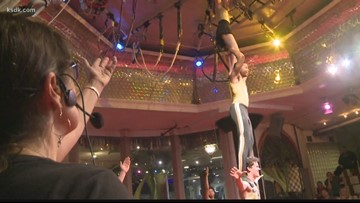 Circus Harmony teaches the art of life