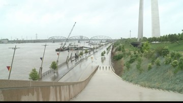 Downtown St. Louis is priority as flood cleanup continues to move downriver