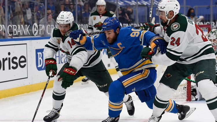 Monday game between Blues and Wild postponed following fatal Minnesota police shooting