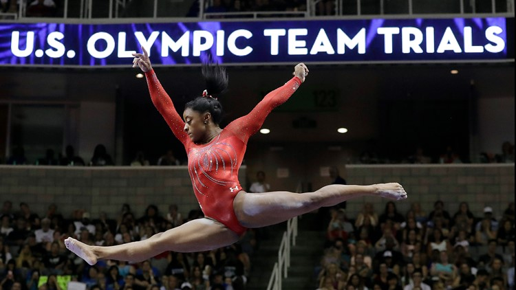Single-session tickets for Olympic Gymnastics Team Trials go on sale Monday