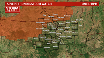 STORM ALERT | Intense thunderstorms possible this evening
