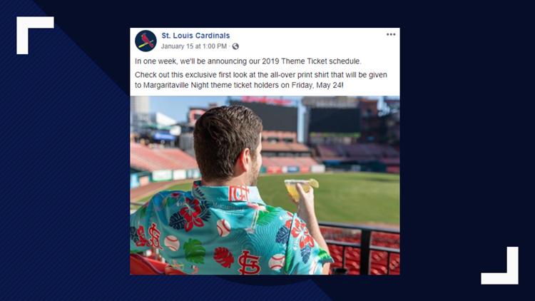 05d6fba4f18 Full list: Cardinals announce 2019 theme night schedule   ksdk.com