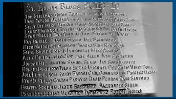 The Stanley Cup officially has the Blues' names on it!