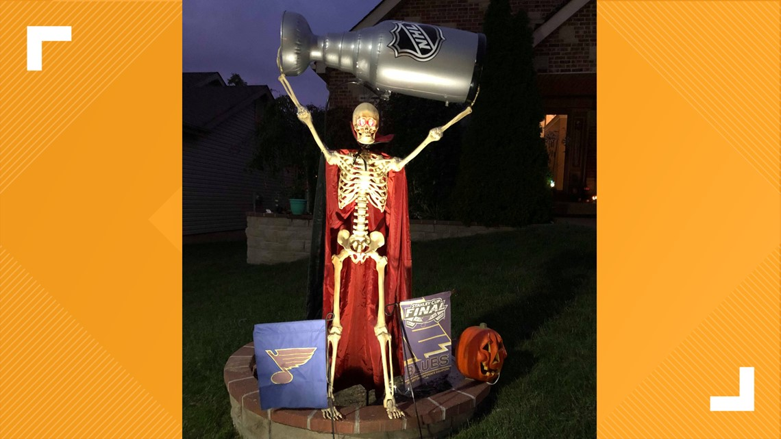 Photos: Halloween decorations celebrate Blues' Stanley Cup championship