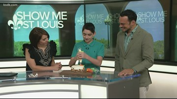 Local contestant from Kids Baking Championship on the Food Network stops by Show Me St. Louis
