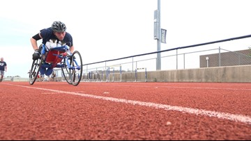 How Allen Bublitz isn't letting cerebral palsy keep him out of high school track