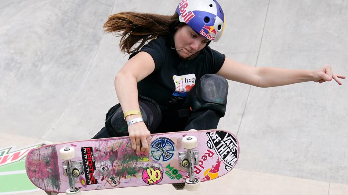 Tokyo Olympics: Skateboarding, Brighton Zeuner