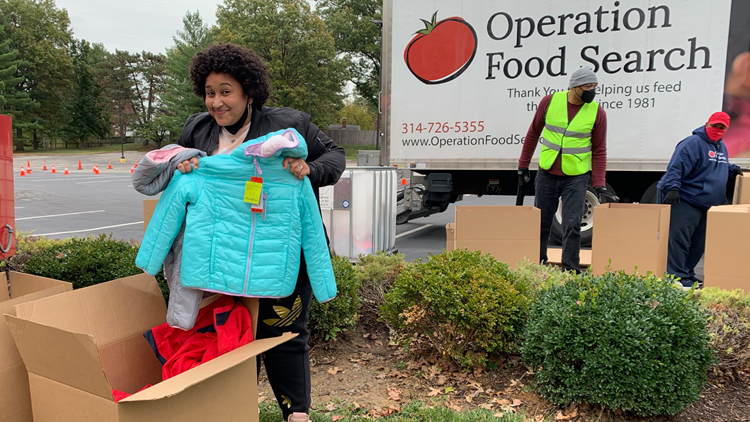 Donate coats for people in need in the St. Louis area