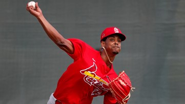 Cardinals option Reyes, three others to triple A