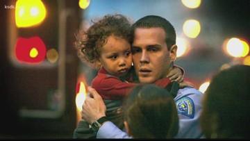 Boy remembers fallen officer