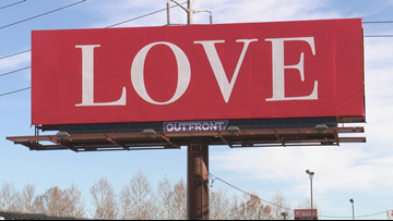 Billboard seen in St. Louis part of nationwide effort to bring community together