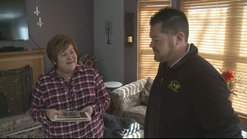 Mission accomplished: Navy veteran's lost belongings returned to family member