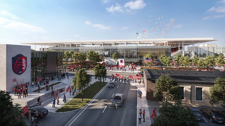 St. Louis CITY SC releases new renderings, gives update on plans