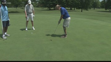 Vets get on the course at Arlington Greens