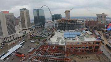 An inside look at Ballpark Village construction