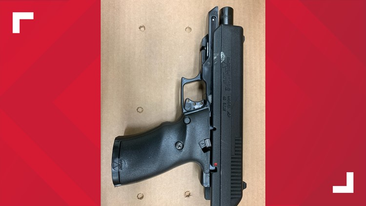 Weapon recovered at Maryland Heights scene