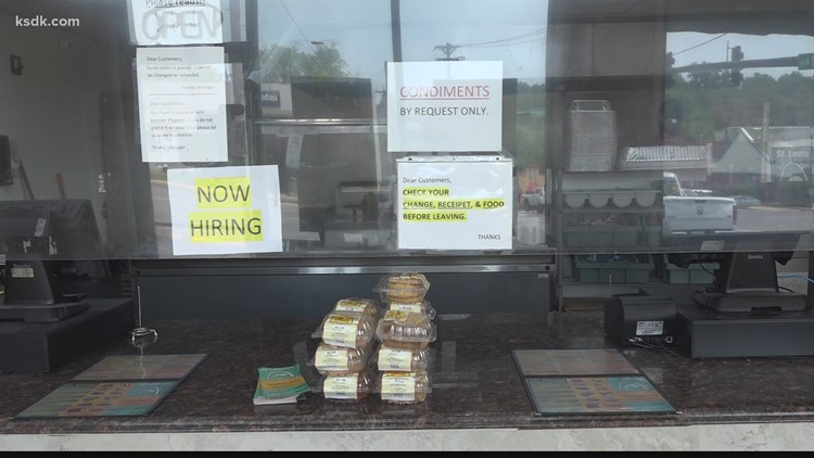 Despite Missouri opting out of federal unemployment benefits, many businesses still can't find enough workers