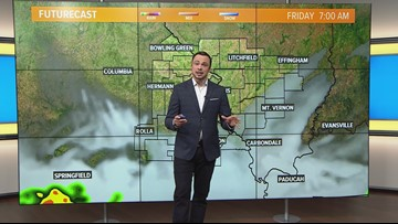 Friday morning weather forecast 730am