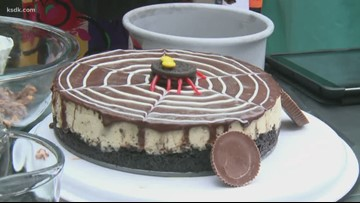 Recipe of the Day: Halloween Candy Cheesecake