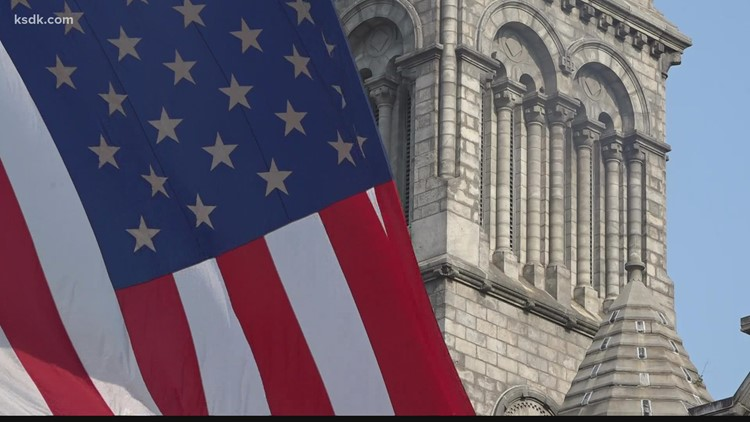 St. Louis Archdiocese officials pray for first responders' safety at annual Blue Mass