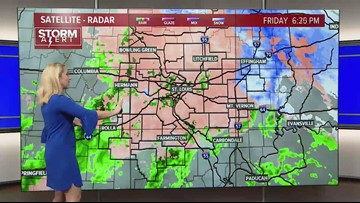 Tracy Hinson's 9 p.m. Friday forecast