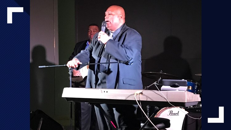 charles glenn blues anthem singer wedding