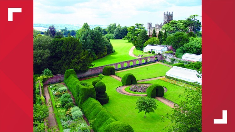Monks Garden at Highclere Castle, Newbury