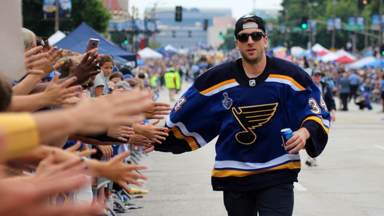 Allen comfortable with role, ready to give Blues whatever they ask for
