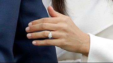 Duchess Meghan debuts re-designed engagement ring