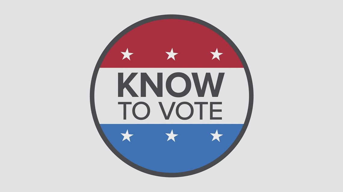 Know to Vote: Understanding what issues, candidates are on your ballot