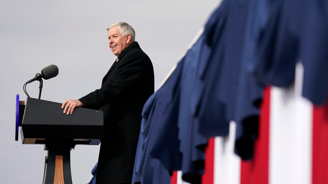 Parson marks Missouri bicentennial with a party-less inaugural