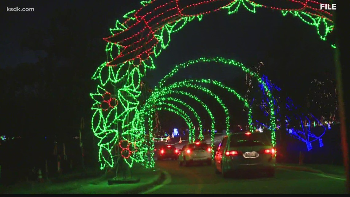 You won't be able to walk through Winter Wonderland at Tilles Park this year